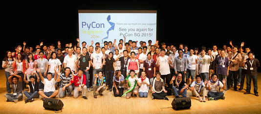 PyConSG 2014 attendees