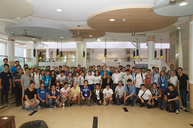 PyConSG 2015 attendees