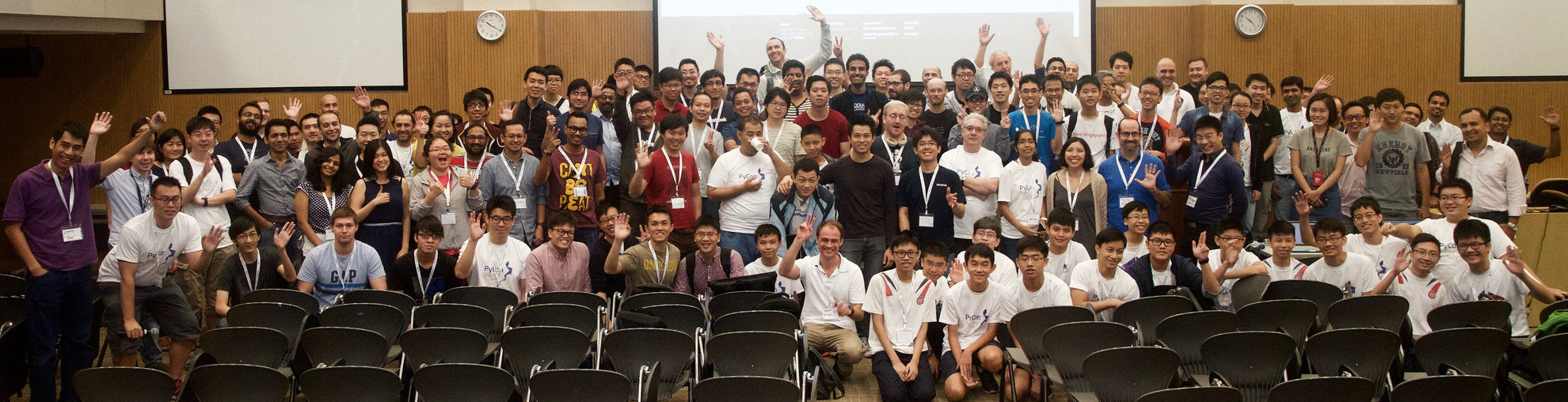 PyConSG 2016 attendees